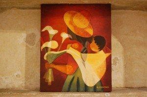 La femme et l'enfant d'après l'oeuvre de Toffoli